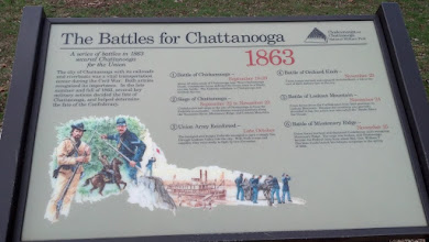 Photo: Battles for Chattanooga 1863