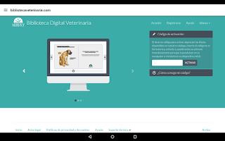 Screenshot of Servet digital.Edición español