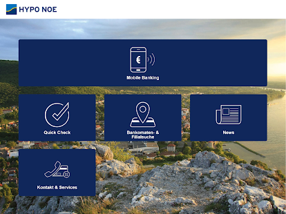HYPO NOE Mobile-Banking App- screenshot thumbnail
