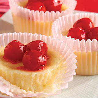 Cupid's Cherry Cheesecakes