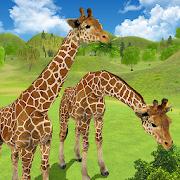 Giraffe Family Life Jungle Simulator