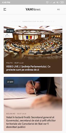 YAMNews - Latest news and headlines from Moldova screenshots 1
