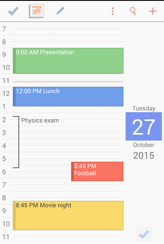 To-Do Calendar Planner Screenshot 2