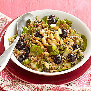 Blueberry-Lemon Tabbouleh