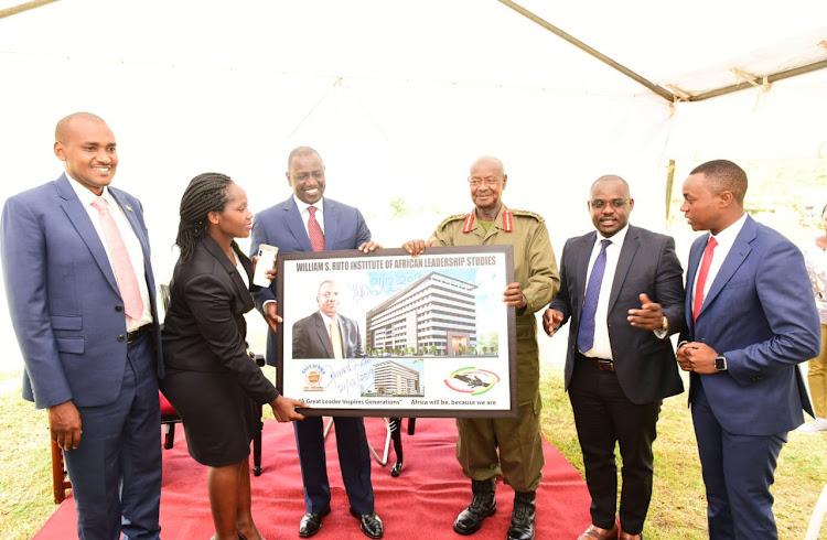 Museveni pledges Sh10 million for DP Ruto Leadership Institute