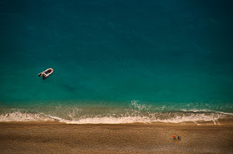 Photo: (day)dreaming of summer  #SeaTuesday might be over (thank you all for participating!!!), but summer's still here, at least in my (day)dreams.  Lefkada Island, Egremnoi Beach which lies a few kilometers on a narrow road plus 347 stairs ...below. one of my favorites places on Earth.