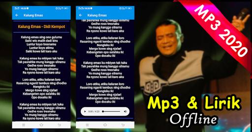 Download Didi Kempot Offline Mp3 Lirik Karaoke Terlengkap Free For