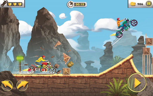 Rush To Crush - Xtreme Bike Stunt Racing PVP Games apkpoly screenshots 3
