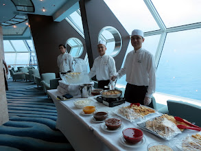 Photo: Cosmos Lounge Deck 11 - Lunch Buffet