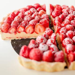 French Strawberry Tart.