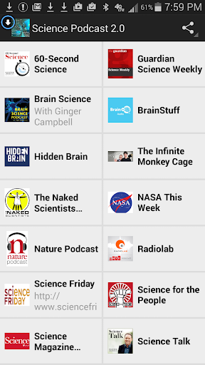 Science Podcast 2.0