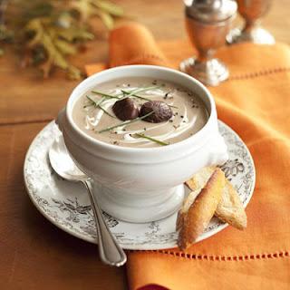 Chestnut-Parsnip Soup