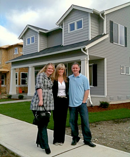 Heather DeFord, Happy Clients, and a successful real estate  transaction!