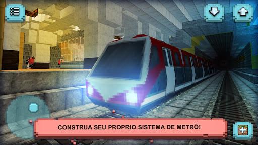 Construir Metro Andar de Trem