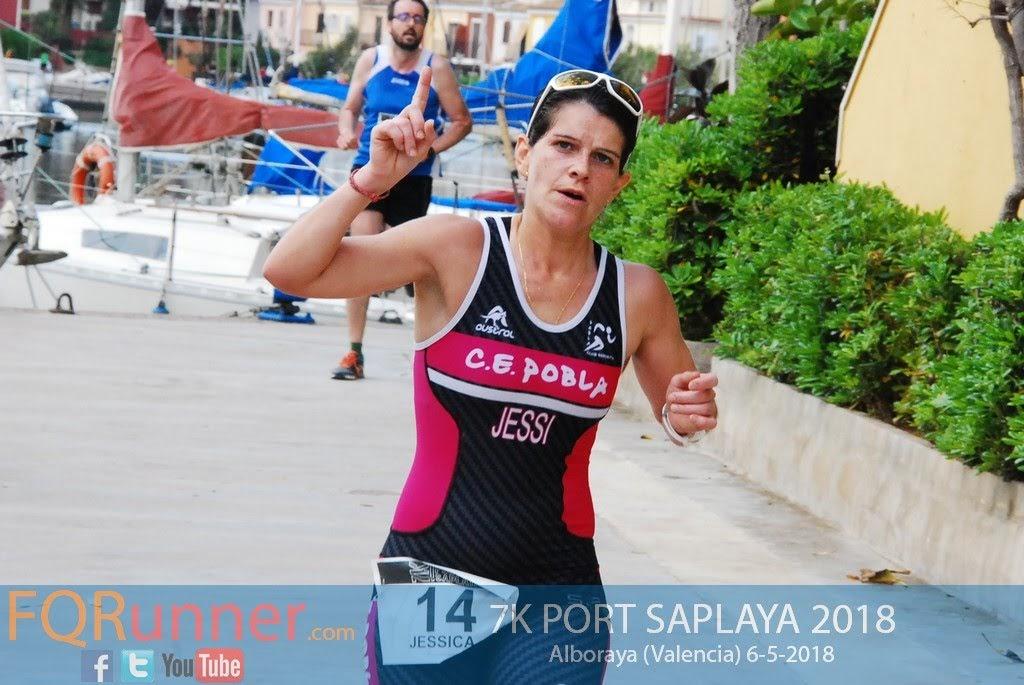 corredora del C.E. Pobla JESSICA ALMANSA GUERRERO