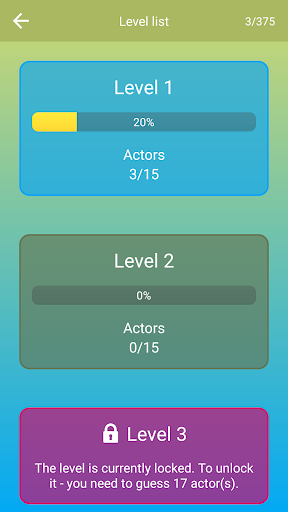 Hollywood Actors: Guess the Celebrity u2014 Quiz, Game  screenshots 4