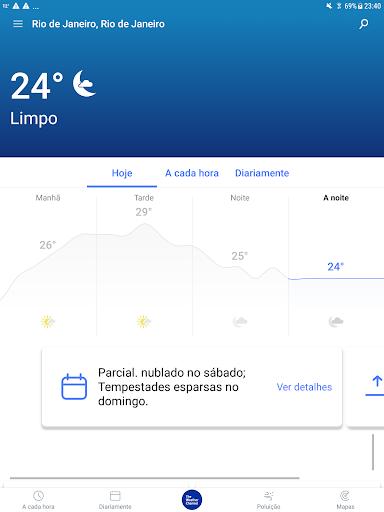 Previsão do tempo: The Weather Channel screenshot 7