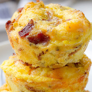 Cheesy Bacon Egg Muffins Recipe