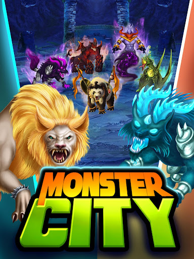 Monster City  captures d'u00e9cran 1
