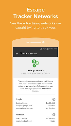 DuckDuckGo Privacy Browser  screenshots 4