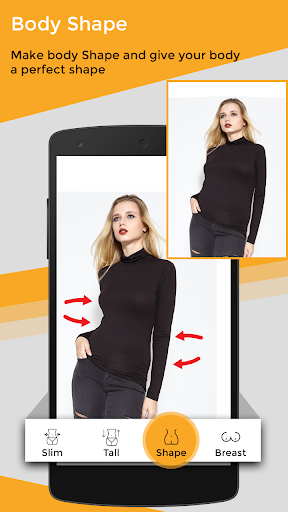 Body Shape Photo Editor 2.0 screenshots 3