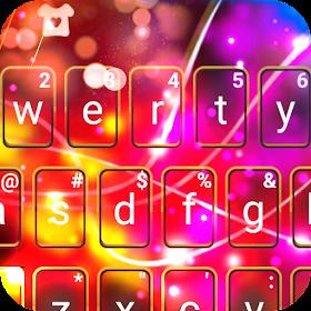 Тема для клавиатуры Electric Tech