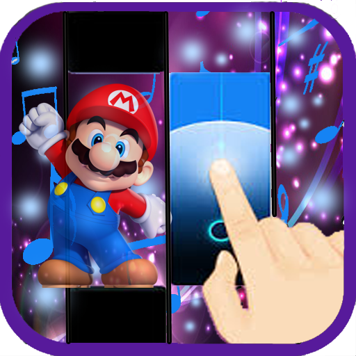 Super Mario Piano Tiles (game)