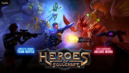 Heroes of SoulCraft - MOBA  captures d'écran 1