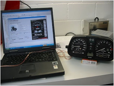 Karamba speedometer calibration program tutorial Benchtest