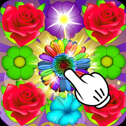 Flower Crush : Match 3 Game