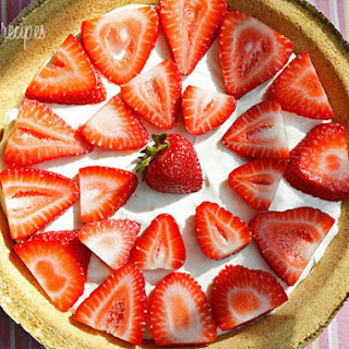 Low Fat Strawberry No-Bake Cheesecake Recipe
