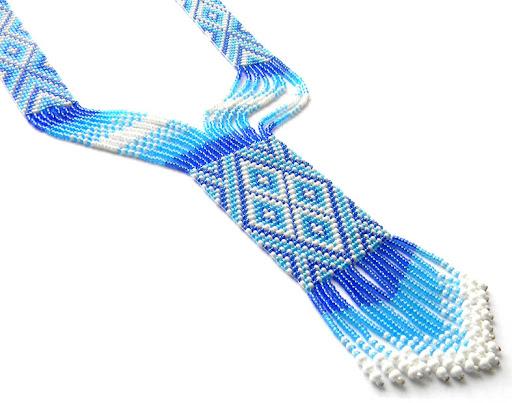 купить гердан(гайтан) голубых оттенков Anabel украина