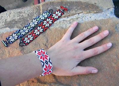 купить цена браслеты из бисера Anabel украшения ручной работы