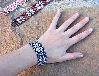 купить браслет с цветочным орнаментом интернет магазин украшений