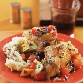 Crockpot Portuguese Chicken.