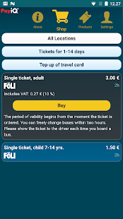 PayiQ Tickets- screenshot thumbnail