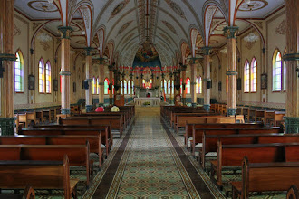 Photo: Inside the church of San Rafael