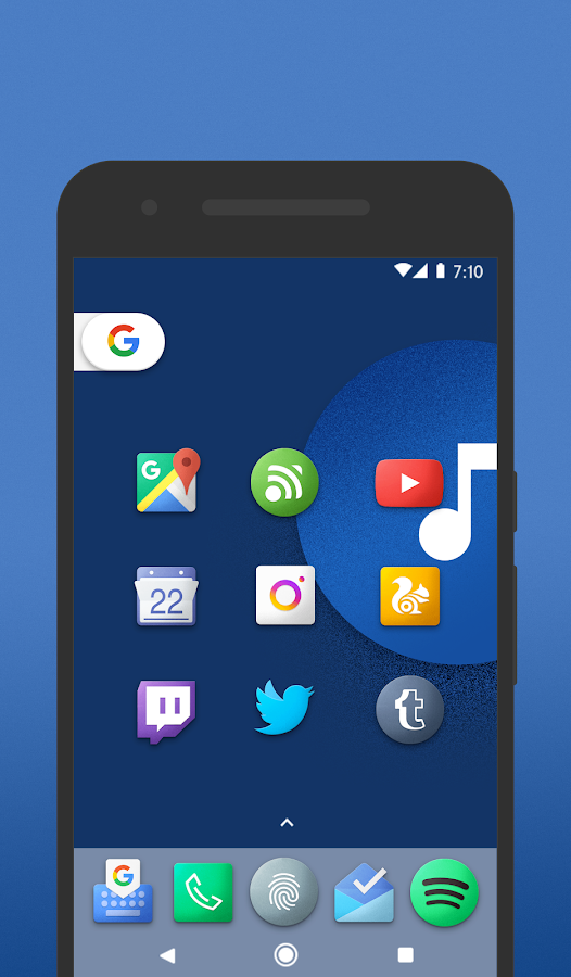 Chromatin UI - Icon Pack- screenshot