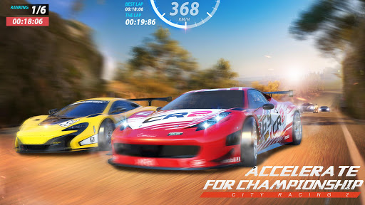 City Racing 2: 3D Fun Epic Car Action Racing Game 1.0.8 screenshots 6