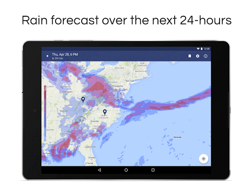 NOAA Weather Radar & Alerts app (apk) free download for Android/PC/Windows screenshot
