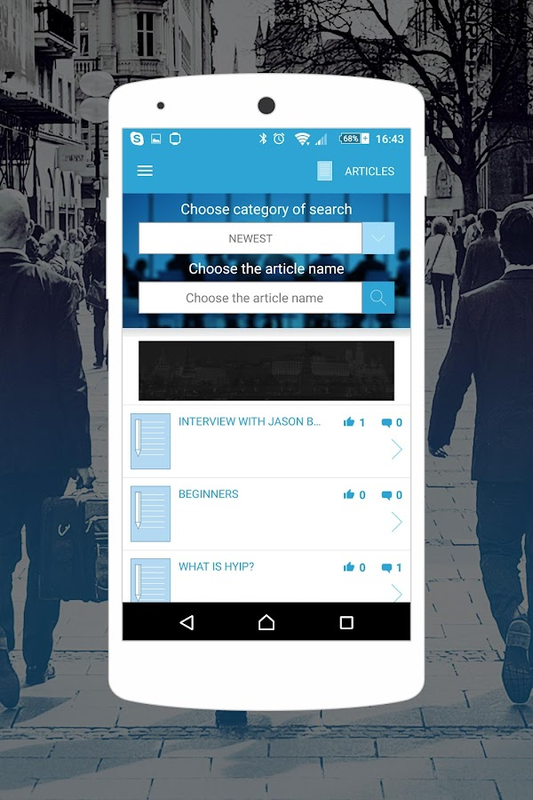 Business Mobile- screenshot