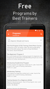 GymUp Workout Notebook PRO free download 4