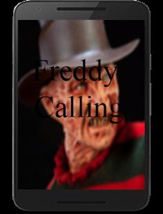 Freddy Krueger video call simulator - náhled
