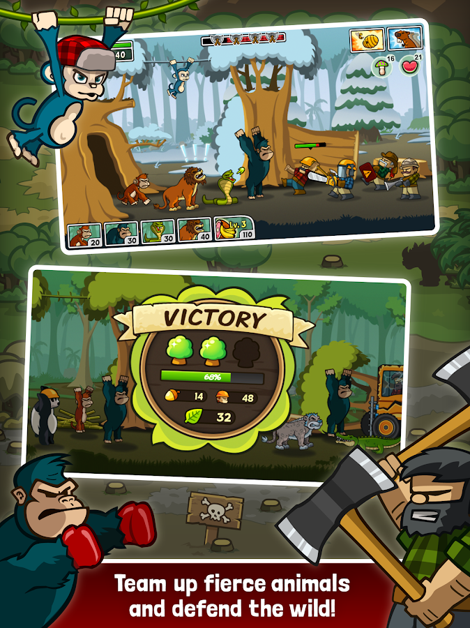 Lumberwhack: Defend the Wild- screenshot