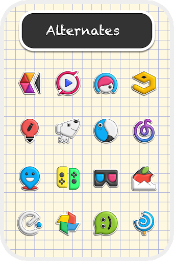 Poppin icon pack 1.7.5 screenshots 7