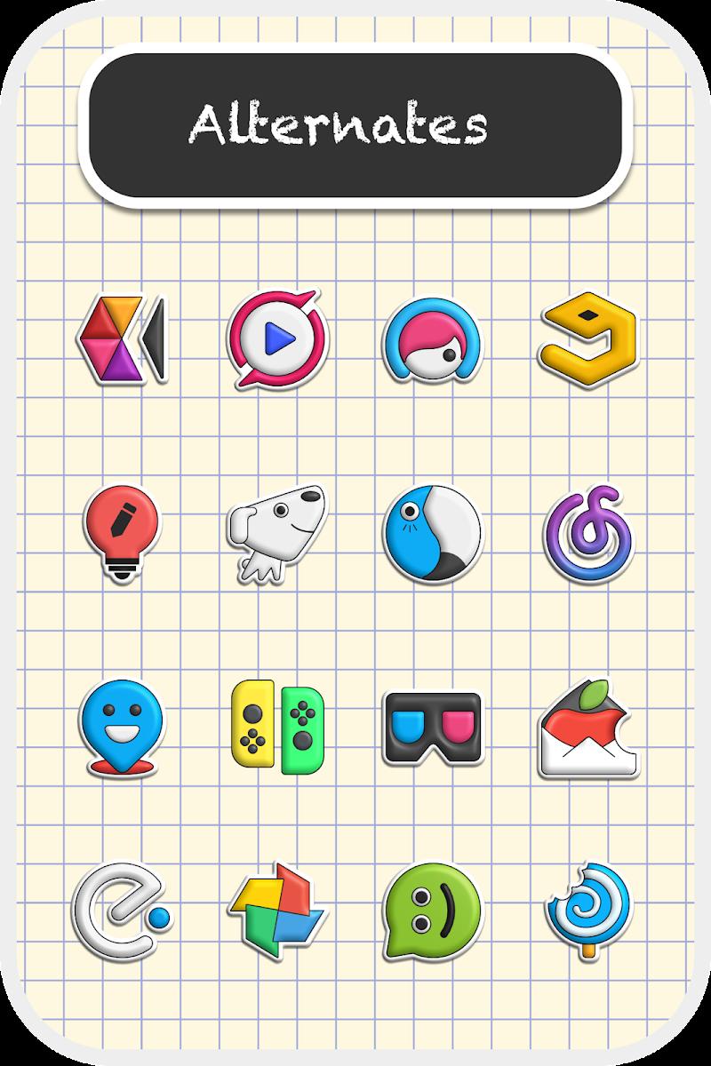 Poppin icon pack Screenshot 5