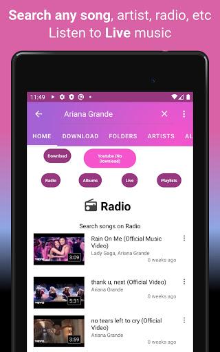 Download music, Free Music Player, MP3 Downloader 1.126 screenshots 20