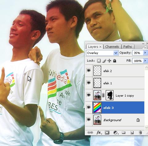 Desain Foto Keren Gaya Muda Ala PSDesain Dengan Photoshop | psdesain