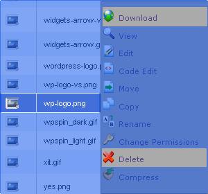 Mengganti logo wordpress