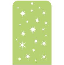 Kaisercraft Mini Designer Templates 3.5X5.75 - Stars